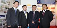 中国国际电子商务博览会开幕,金华市市长暨军民等领导莅临葫芦娃集团考察
