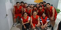 热烈庆祝葫芦娃网络-中国互联网安全认证中心篮球队成立