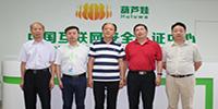 江西省人民政府驻上海办事处党组书记、主任王敦范等领导一行莅临葫芦娃考察