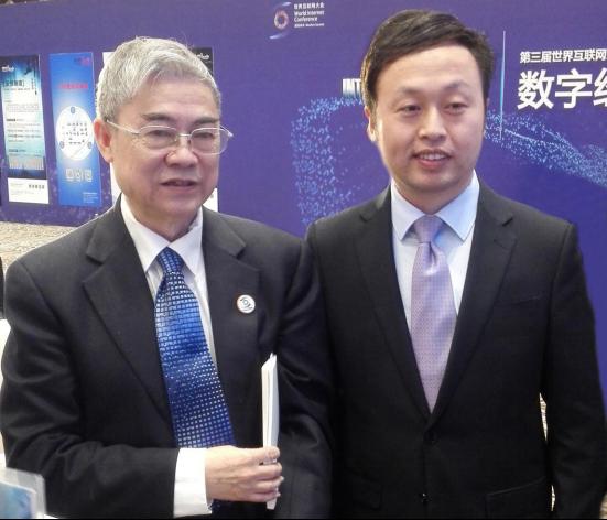 第三届世界互联网大会,中国互联网协会理事长、中国工程院院士邬贺铨等领导寄语葫芦娃