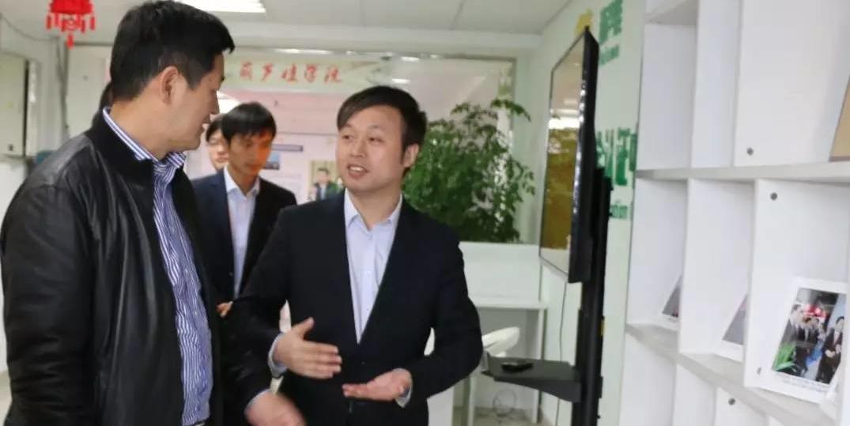 江西省横峰县委副书记李海星一行莅临葫芦娃集团考察指导