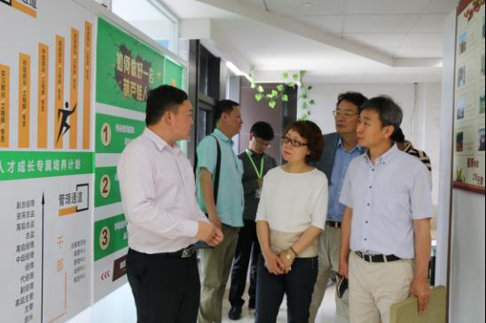 天津市工商联杭州学访团莅临葫芦娃集团杭州总部参观交流