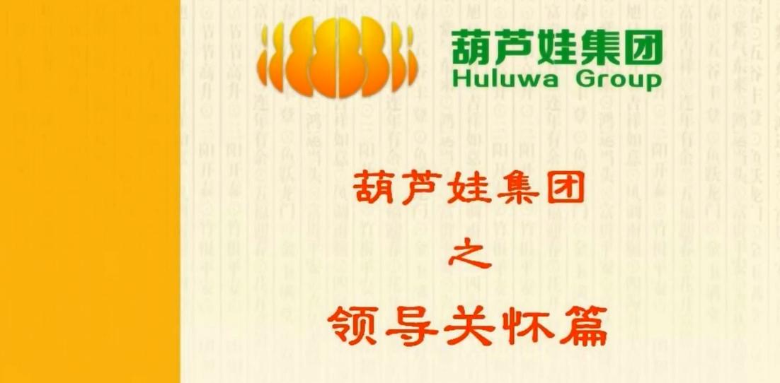 【视频新闻】葫芦娃集团之领导关怀视频合集