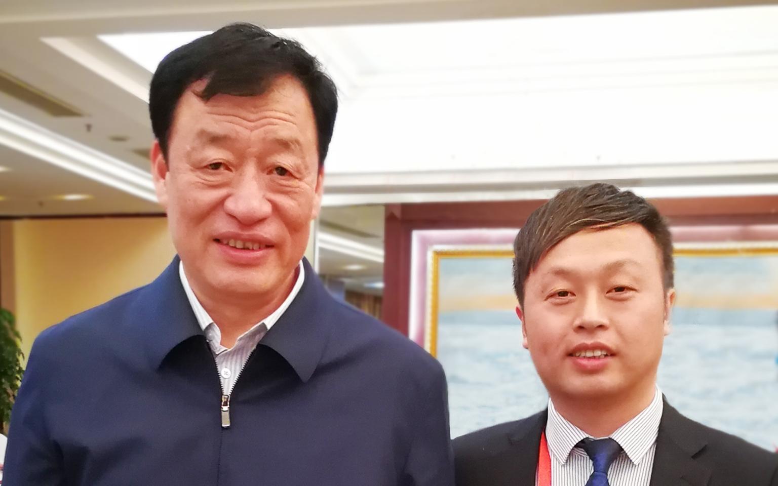 赣京经济合作交流会,唐正荣向刘奇省长汇报工作