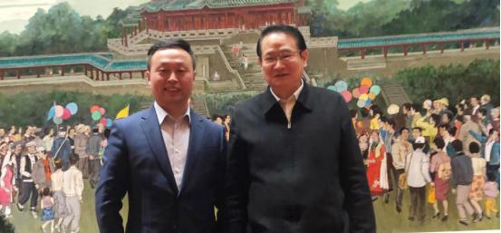 江西省省长易炼红会见葫芦娃集团创始人兼CEO唐正荣