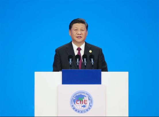 【葫芦娃聚焦】首届中国国际进口博览会开幕,习大大主席发表主旨演讲216.png